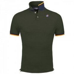 K-WAY POLO VINCENT CONTRASTART. K008J50