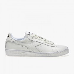 DIADORA GAME L LOW WAXEDCOL. WHITE