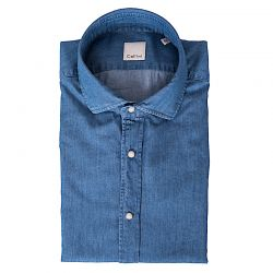 CELLINI CAMICIA JEANS BOTTONI PESSIONE ART.11296.002