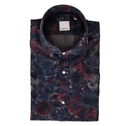 CELLINI CAMICIA FLOREALE, COLLO MORBIDO ART.71536.001
