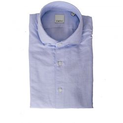 CELLINI CAMICIA OXFORD CELESTE ART.11285.002